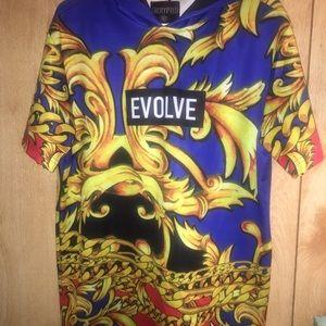 Short sleeved hoodie by Evolve